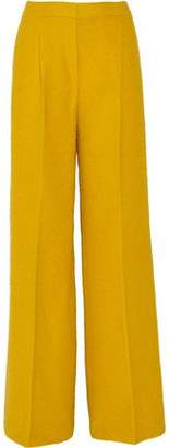 Max Mara Alpaca And Silk-Blend Bouclé Wide-Leg Pants