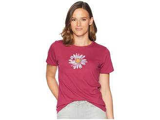 Life is Good Big Daisy Crusher T-Shirt