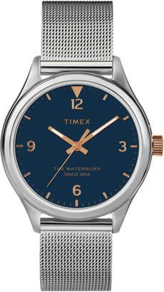 Timex Waterbury Mesh Strap Watch, 34mm