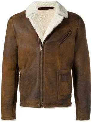 Salvatore Santoro shearling jacket