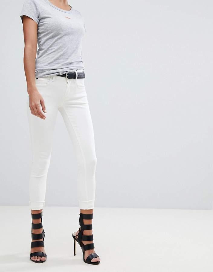 G-Star – Lynn D-Mid – Superenge, knöchellange Skinny-Jeans