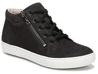 Naturalizer N5 Contour Motley Suede Hi-Top Sneakers