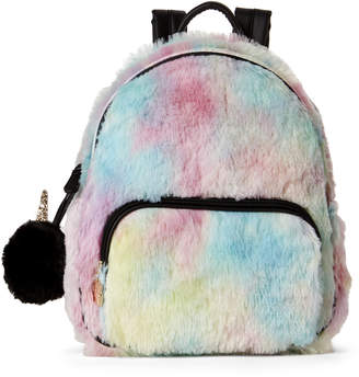 Betsey Johnson Luv Betsey By Rainbow Fur Backpack