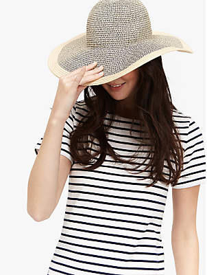 Joules Myla Straw Sun Hat, Natural