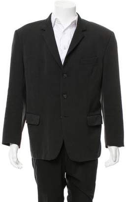 Helmut Lang Wool Three-Button Blazer