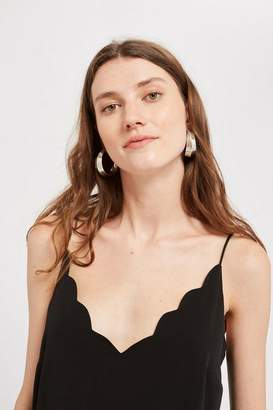 Topshop **Maternity Scallop Camisole Top