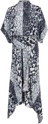 Victoria Beckham Leopard-Print Silk-Crepe Midi Dress