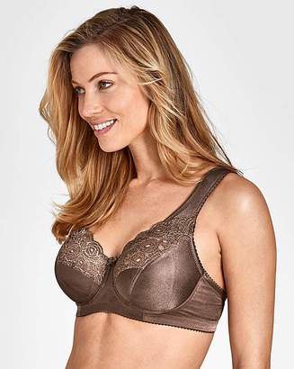 Miss Mary Of Sweden Miss Mary Full Cup Wired Brown Bra