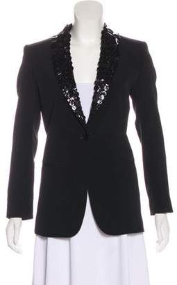Jean Paul Gaultier Embellished Virgin Wool Jacket