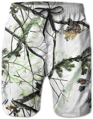 8510e175de9 Enuain Realtree Camo Casual Men's Quick-Dry Board Shorts Cargo Pants