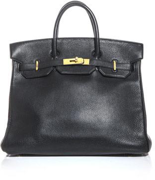 Hermes Vintage Leather Hac bag