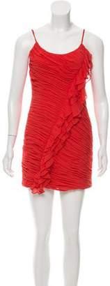 L'Agence Silk Mini Dress