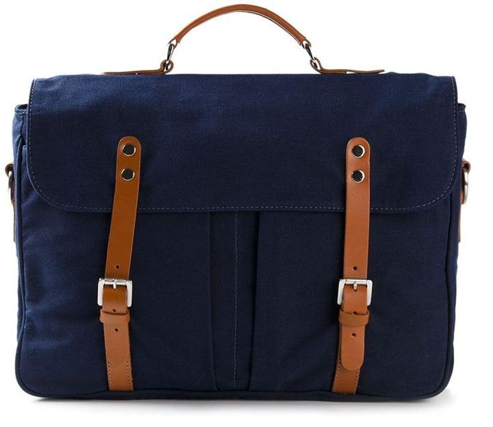 Veja contrast straps satchel