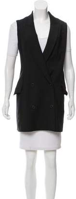 Alexander Wang Longline Double-Breasted Vest