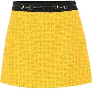 Gucci Tweed miniskirt