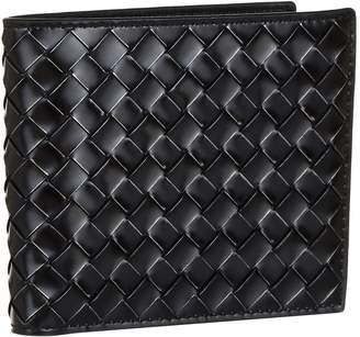 Bottega Veneta Intrecciato Weave Leather Bifold Wallet