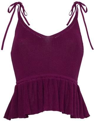 Eleven Paris Six Mali Sweater Cami - Violet