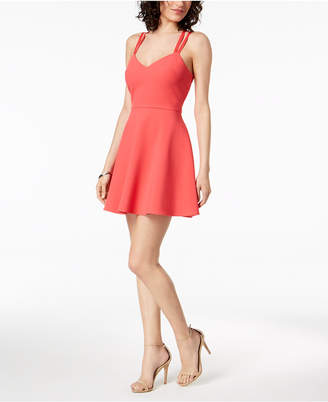 French Connection Strappy Fit & Flare Dress
