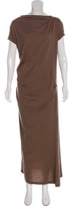 Brunello Cucinelli Virgin Wool Maxi Dress