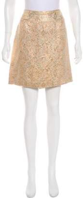 Dolce & Gabbana Jacquard Knee-Length Skirt