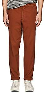 Barena Venezia Men's Cotton Carrot Leg Cuffed Trousers - Orange
