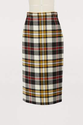 Miu Miu Wool pencil skirt