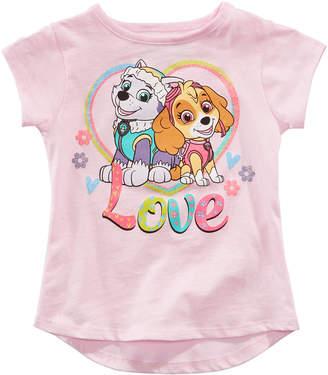 Nickelodeon Paw Patrol Little Girls Love T-Shirt