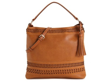 Urban Expressions Woven Hobo Bag