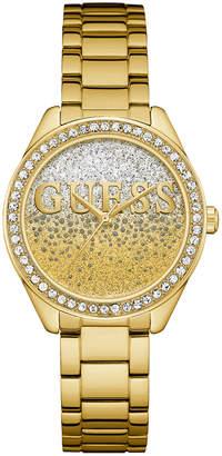 GUESS W0987L2 Glitter Girl Gold Watch