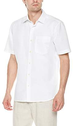 Isle Bay Linens Men's Standard Fit Short Sleeve Casual Shirt