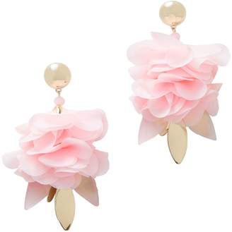 Lilly Pulitzer R) Cascading Petals Statement Drop Earrings