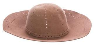Helen Kaminski Perforated Felted Fur Hat