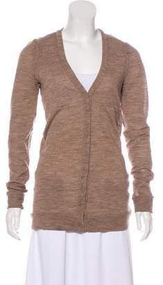 Balenciaga Button-Up Knit Cardigan