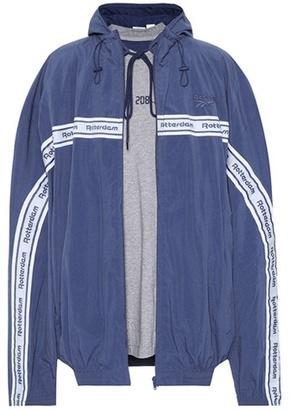 X Reebok oversized jacket