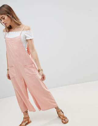 Moon River Slouchy Pocket Jumpsuit