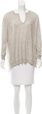 3.1 Phillip Lim3.1 Phillip Lim Oversize Wool & Cashmere-Blend Sweater
