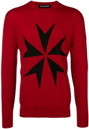 Neil Barrett Military Star jumper