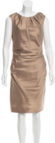 pradaPrada Wool & Silk-Blend Dress