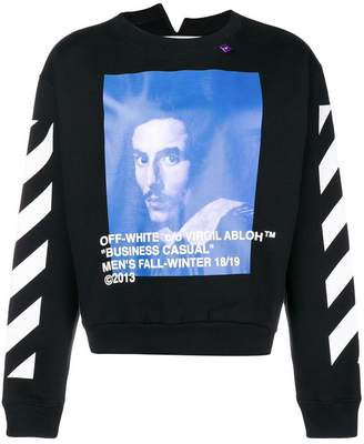 Off-White crew neck sweatshirt