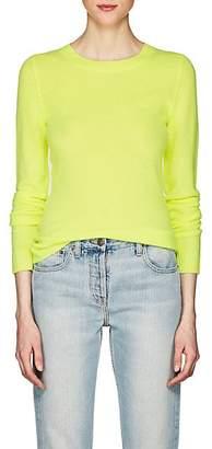 Barneys New York Women's Cashmere Crewneck Sweater - Yellow