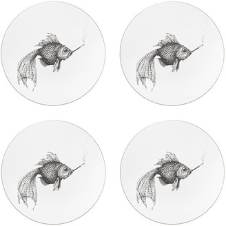 Rory Dobner - Smokey Fish Placemat - Round - Set of 4