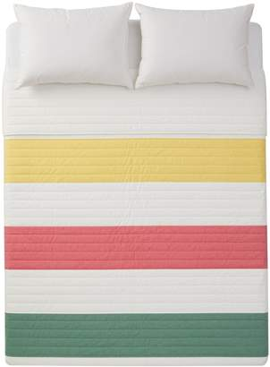 HBC Stripes Multi Stripe Percale Quilt