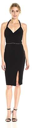 GUESS Women's Slinky Jersey Dress with Belt