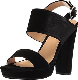 Report Women's Lawry Platform Dress Sandal $24.99 thestylecure.com