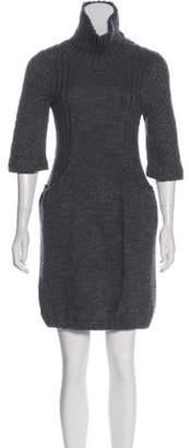 Miu Miu Turtleneck Sweater Dress Turtleneck Sweater Dress