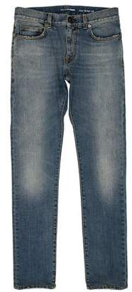 Saint Laurent Distressed D02 Skinny Jeans
