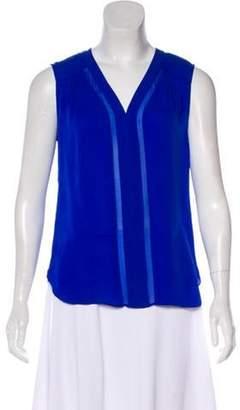 Diane von Furstenberg Sleeveless Silk Top Sleeveless Silk Top