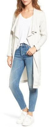 Women's Cupcakes And Cashmere Abria Drape Front Jacket $175 thestylecure.com