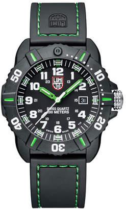 Luminox 44mm Sea Series Coronado 3037 Watch, Green