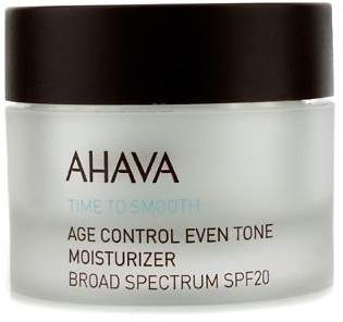 Ahava NEW Time To Smooth Age Control Even Tone Moisturizer SPF 20 50ml Womens